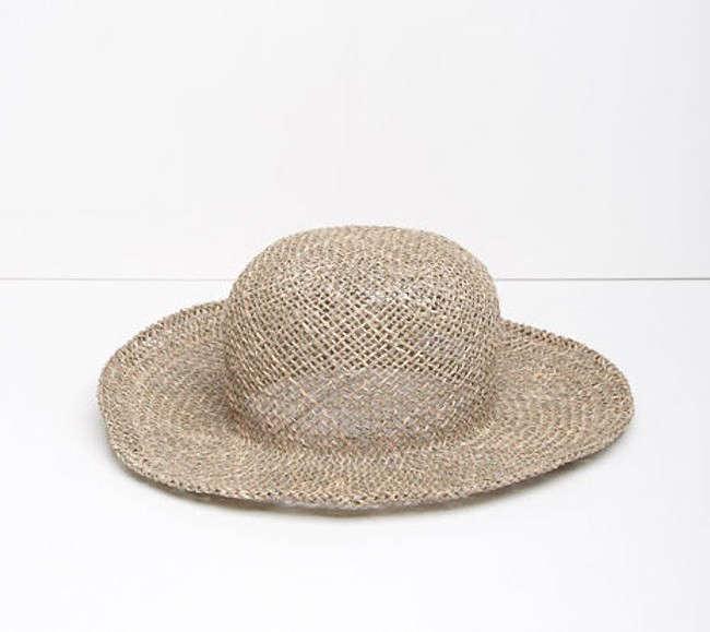 dbe59cef76979 Comme des Garçons  Woven Straw Hat