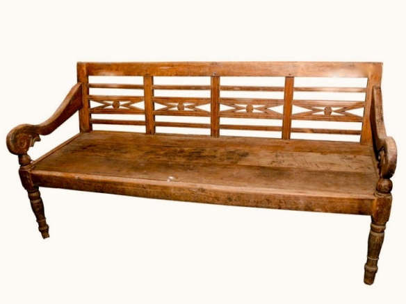 Outstanding Vintage Teak Wood Bench Caraccident5 Cool Chair Designs And Ideas Caraccident5Info