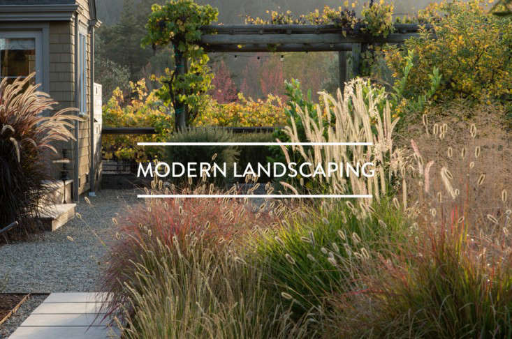 Table Of Contents Modern Landscaping Gardenista