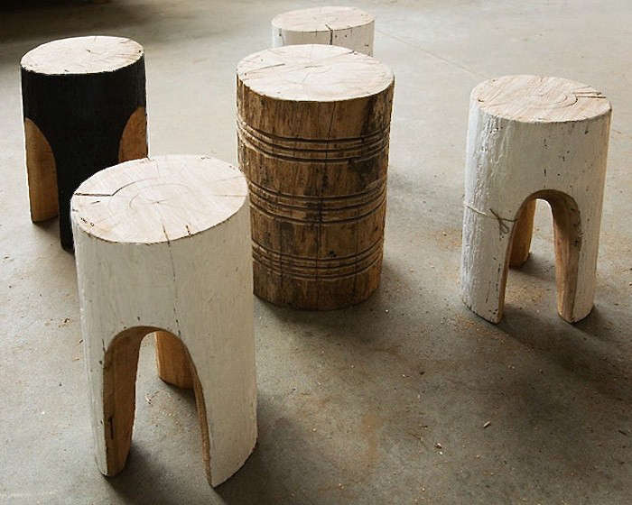 Above Furniture maker Greg Hatton carves fallen trees by hand and applies natural finishes to create stools and side tables. For more information and ... & 10 Easy Pieces: Tree Stump Stools and Tables - Gardenista islam-shia.org