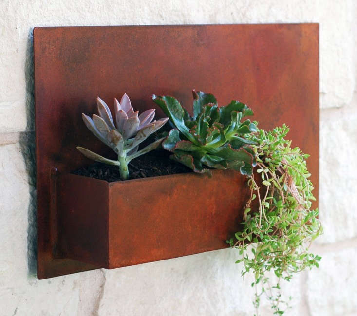 Modern Metal from Urban Mettle House Numbers and Planters