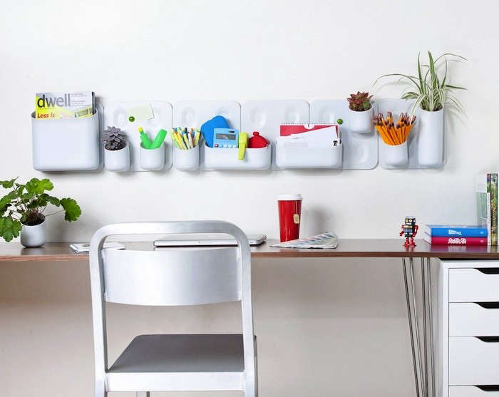 Above: An Office Wall Organizer With An Adaptable Design, The Urbio Wall  Organization And Planter System Is Made Of Lightweight Polypropylene  Plastic With ...