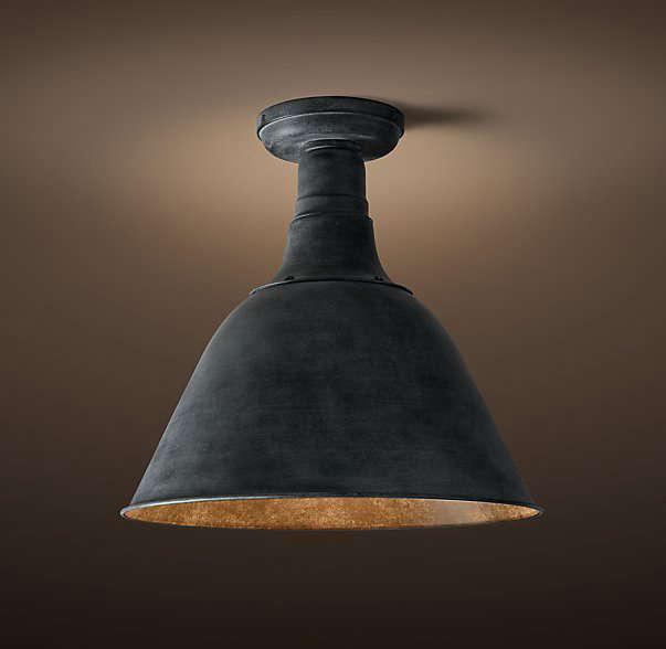 10 easy pieces black porch ceiling lights gardenista