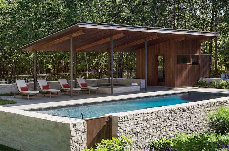 Long Island Summer: A Modern Pool Pavilion in Water Mill ...