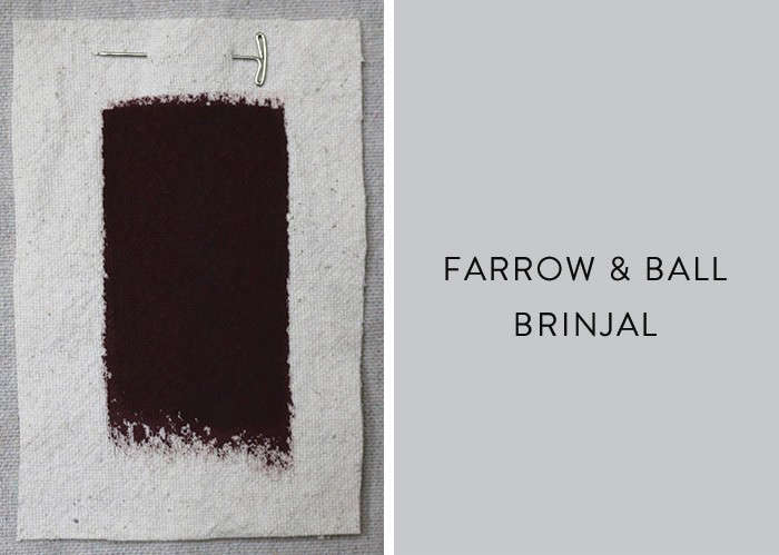 above farrow balls brinjal takes its name from a south asian word for eggplant - Farrow And Ball Brinjal