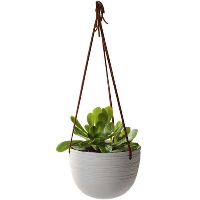 how to give shade to a hanging garden pot