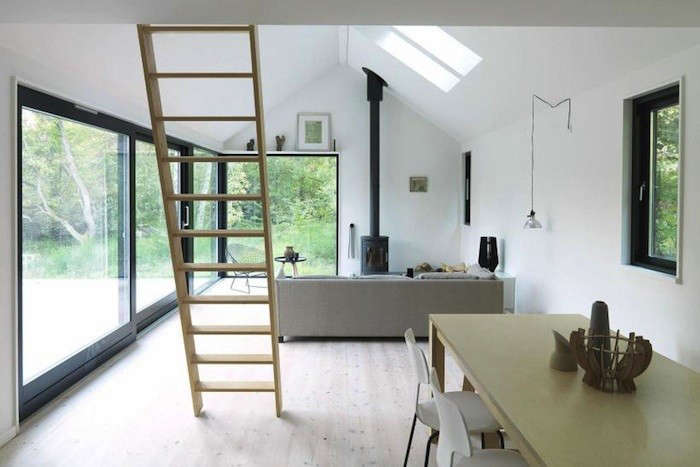 Architect Visit: A Modular Danish Summer House—Ready To Go