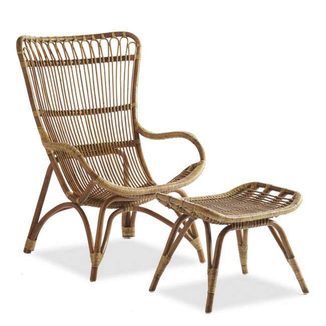 Attrayant Rattan Lounger And Ottoman Gardenista