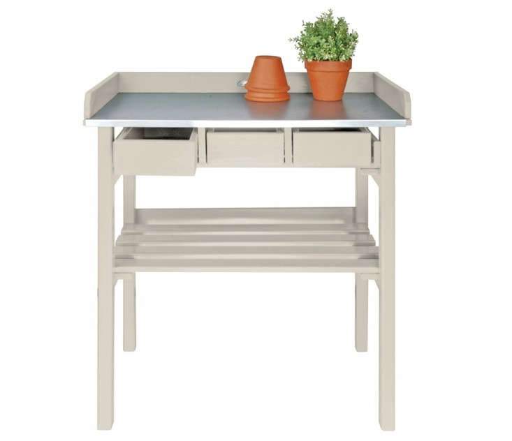 Tiny Mini Potting Planting Table Gardenista