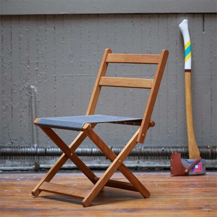 Above Our Go To Designer For Camp Wares Best Made Co Has Created The Chair From Solid White Oak And Duck Canvas Reinforced With Brass