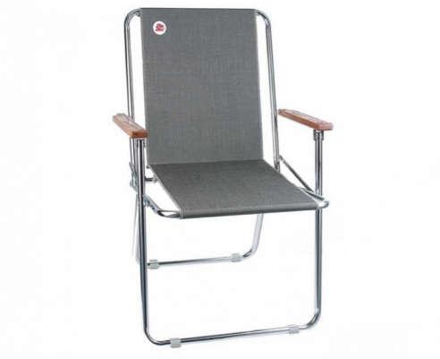 dee fold up chairs - charcoal tweed