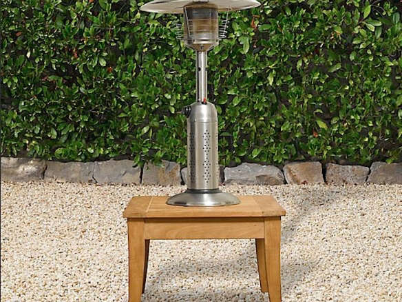 Deluxe Tabletop Propane Patio Heater