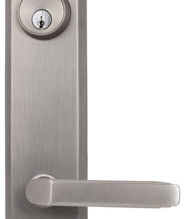 Emtek Quincy Sideplate Keyed Lock