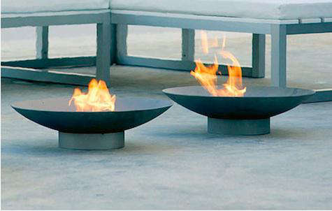 brasero fire pit. Black Bedroom Furniture Sets. Home Design Ideas