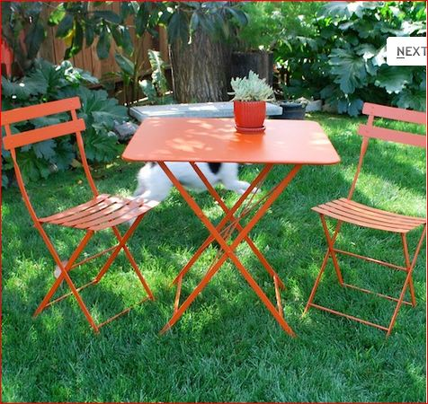 10 Easy Pieces Outdoor Folding Chairs Gardenista