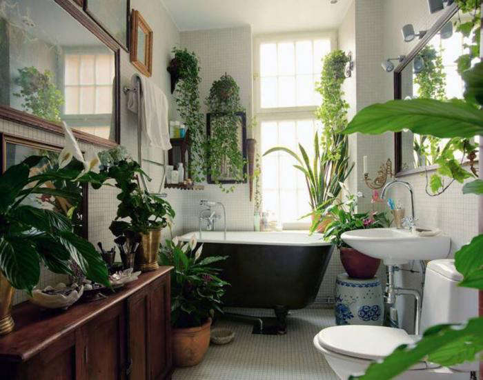 5 Favorites: Bathroom as Garden - Gardenista