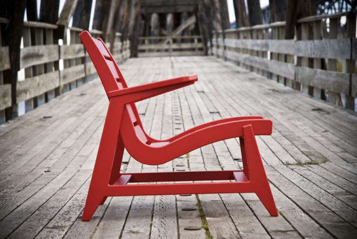 In Addition, The Company Has Designed A Three Slat Option For DWR (from  $362 To $487), Or The Two Slat Emmet Lounge Chair, Designed For Room And  Board; ...