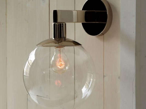 A Mod Outdoor Sconce For Spring