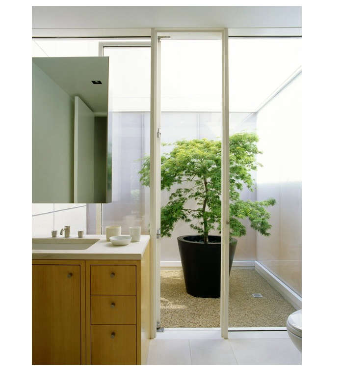 5 Favorites Bathroom as Garden Gardenista