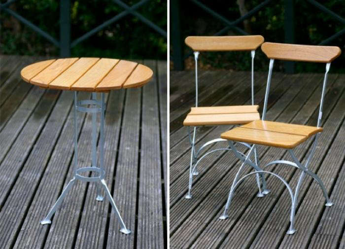 Classic Cafe Furniture From Sweden