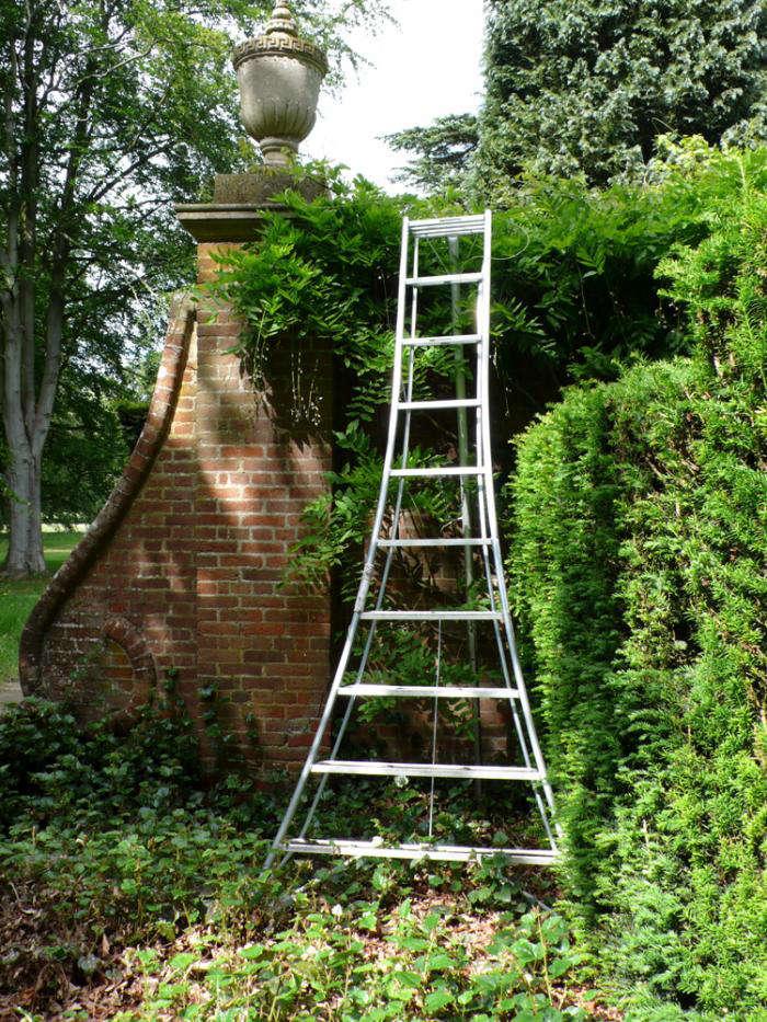 English Gardeners Favorite Tools Niwaki Tripod Ladder Gardenista