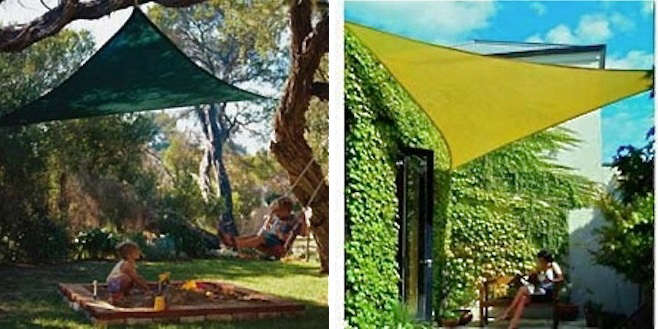 A Shady Solution Sails As Awnings Gardenista