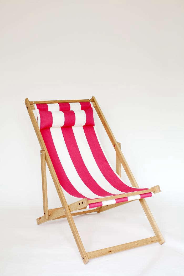 Handmade Deck Chair By Gallant U0026 Jones