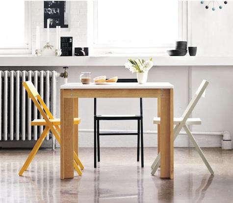 Furniture: Piana Folding Chair At DWR