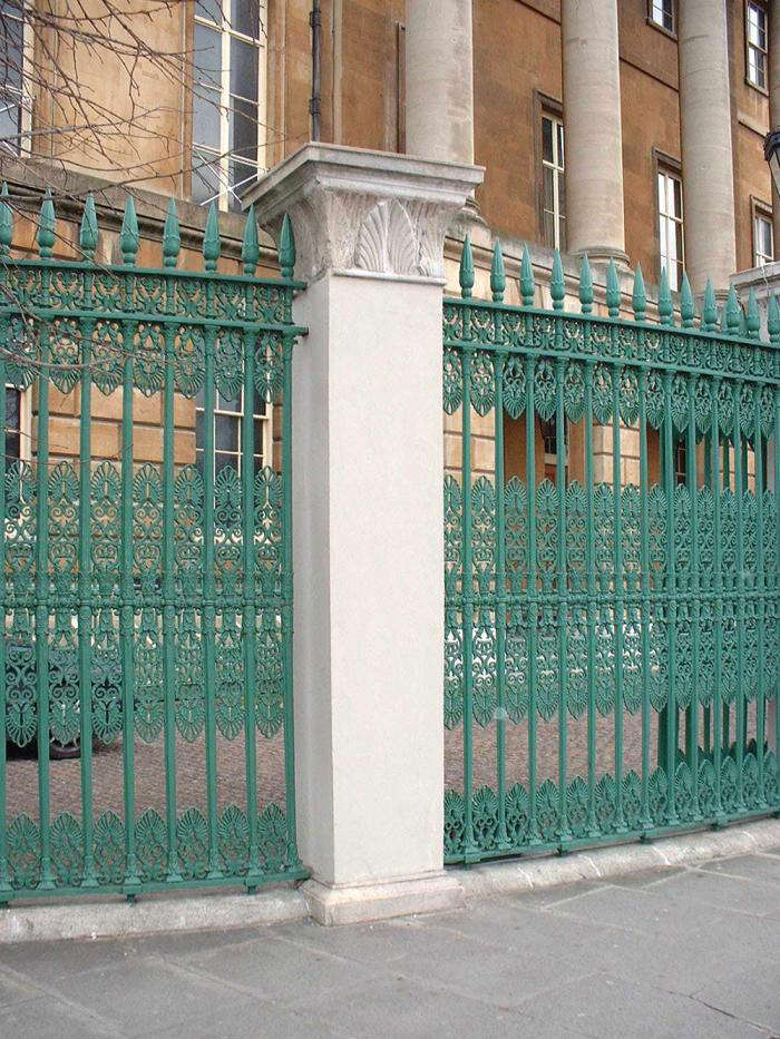 Number One London, The Home Of The Duke Of Wellington. U201cThe Railings Of