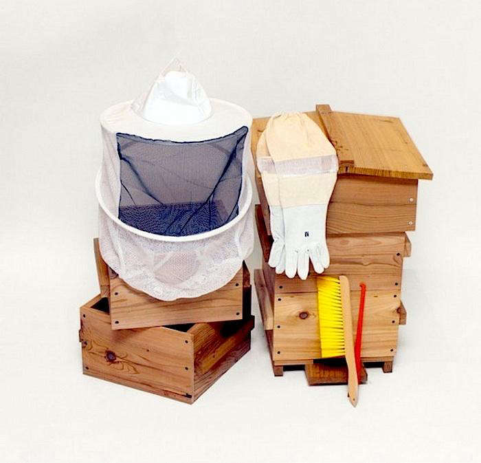 Above: Bee Thinking Offers A Range Of Beekeeping Accessories Supporting Top  Bar, Warre, And Langstroth Hive Systems. The Beekeeping Starter Kit  Includes ...