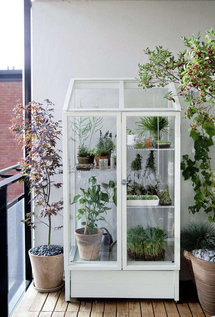... (which The Company Translates As U201cGreen Vitrineu201d) Through Its  Hasselfors Garden Line For Home Gardeners. A Compact Greenhouse For An  Urban Garden, ...