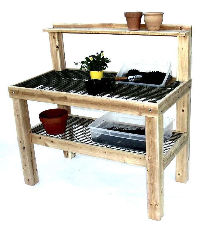 10 Easy Pieces Potting Benches Gardenista
