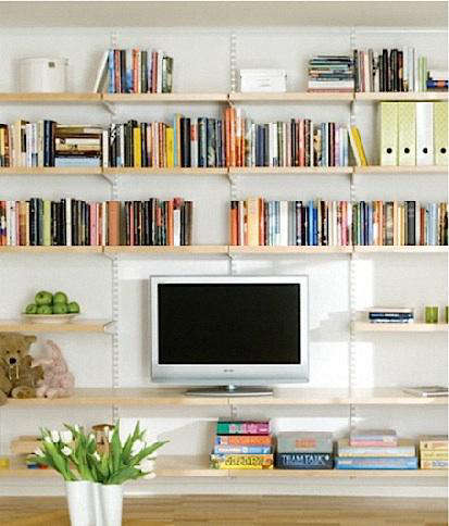 10 Easy Pieces Wall Mounted Shelving Systems Gardenista