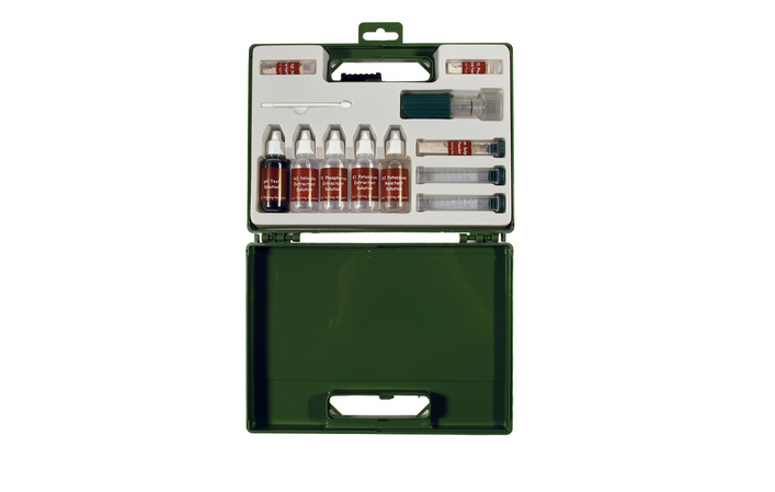 A Soil Test Kit in a sturdy plastic case is $20.95 from Home Science Tools.