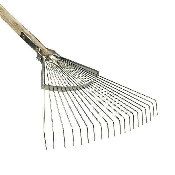 Above: This Could Be The Rolls Royce Of Garden Rakes. The Sneeboer Leaf Rake  Has An Ash Handle Thatu0027s Just The Right Diameter To Grip Comfortably, ...
