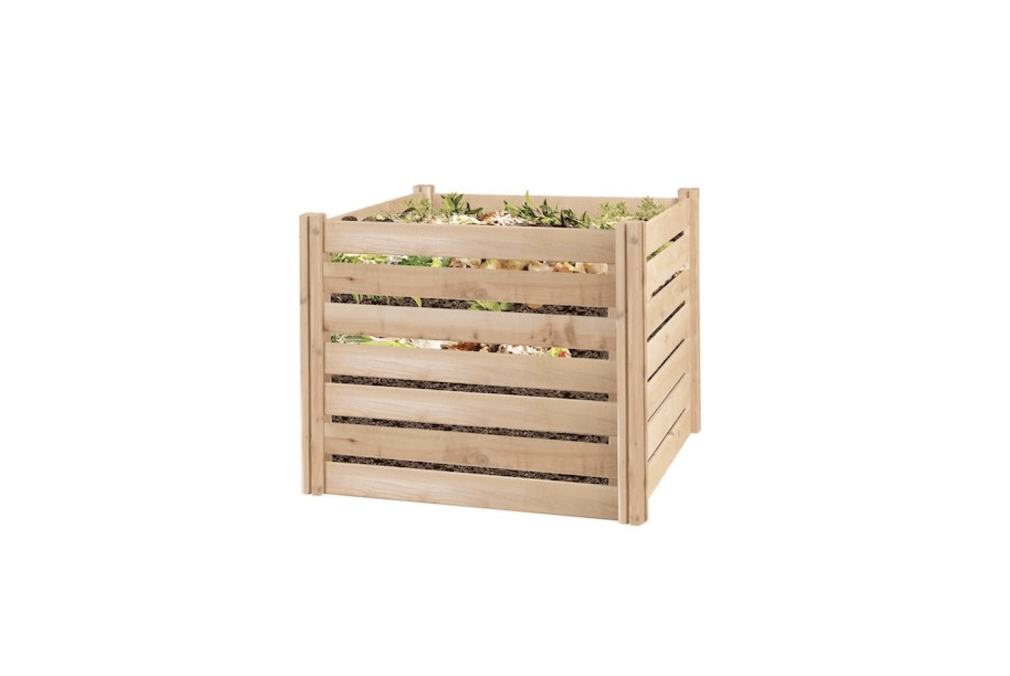 10 Easy Pieces Wood Compost Bins Gardenista