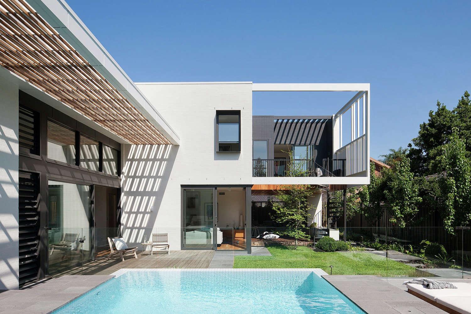 Architect Visit A Modern Landscape For A Midcentury