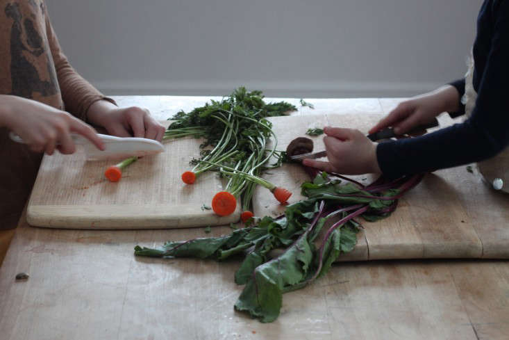 For more ways to make use of vegetable scraps, see DIY: Grow an Indoor Compost Garden. Photograph by Justine Hand.