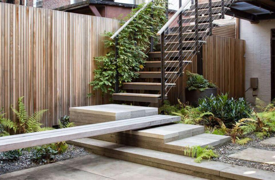 Garden Designer Visit Brook Klausing Elevates A Brooklyn Backyard Extraordinary Garden Design Brooklyn Image