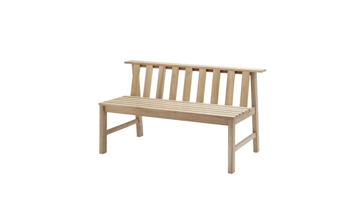 Outstanding 10 Easy Pieces Wooden Garden Benches Gardenista Cjindustries Chair Design For Home Cjindustriesco