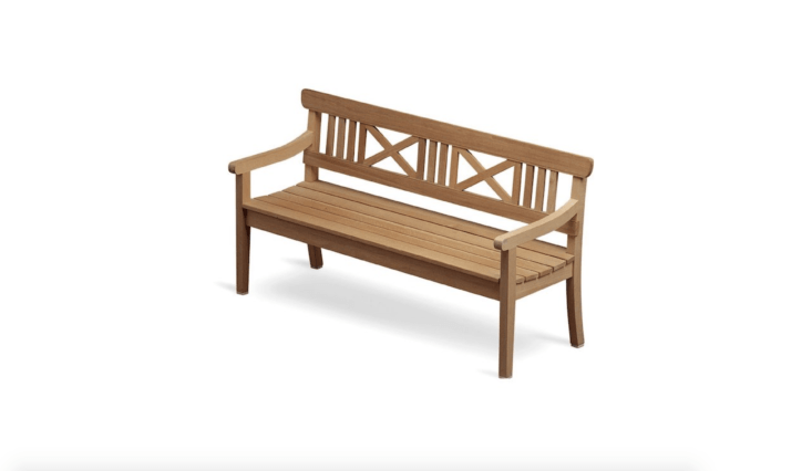 Excellent 10 Easy Pieces Wooden Garden Benches Gardenista Gmtry Best Dining Table And Chair Ideas Images Gmtryco