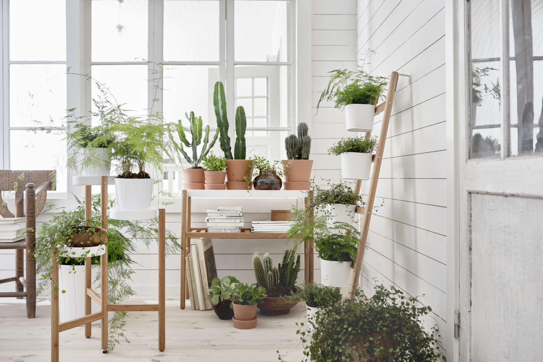 Design Ikea Plant Stand ikea sneak peek new bamboo plant stands and planters gardenista planters