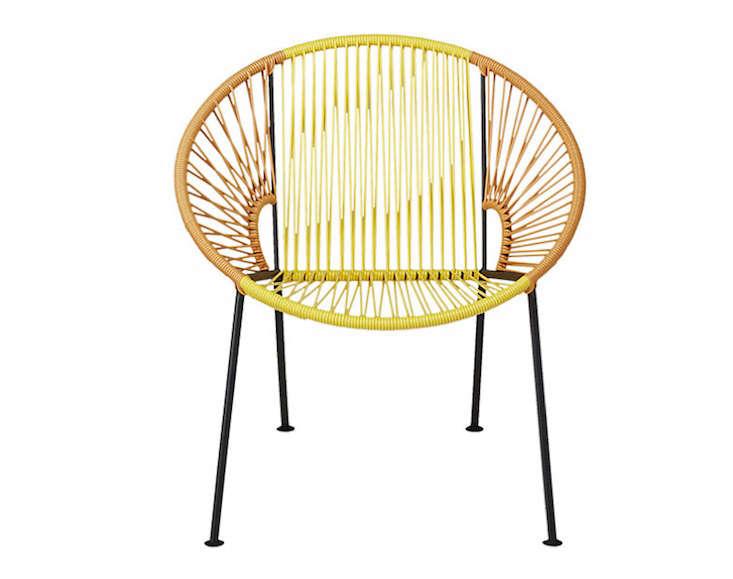 Etonnant Hoop Chair Cb2 Gardenista 2