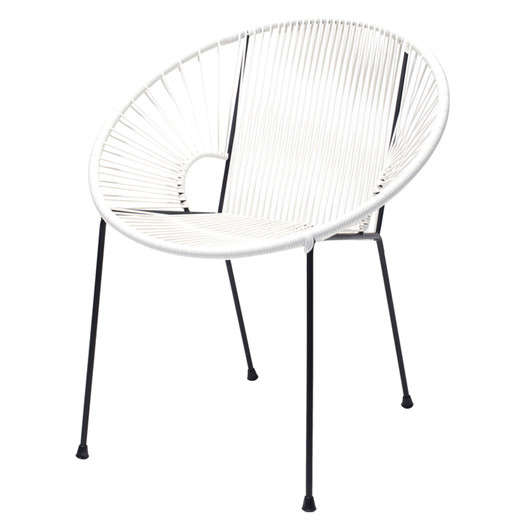 Hoop Chair Concha Side Chair Gardenista