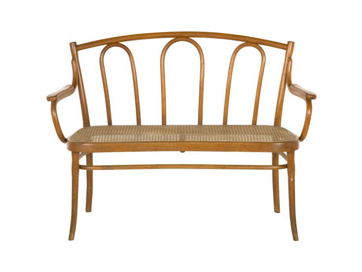 Source a Vintage Thonet Bench like this one, via Jayson Home, on eBay, Etsy, and Chairish.