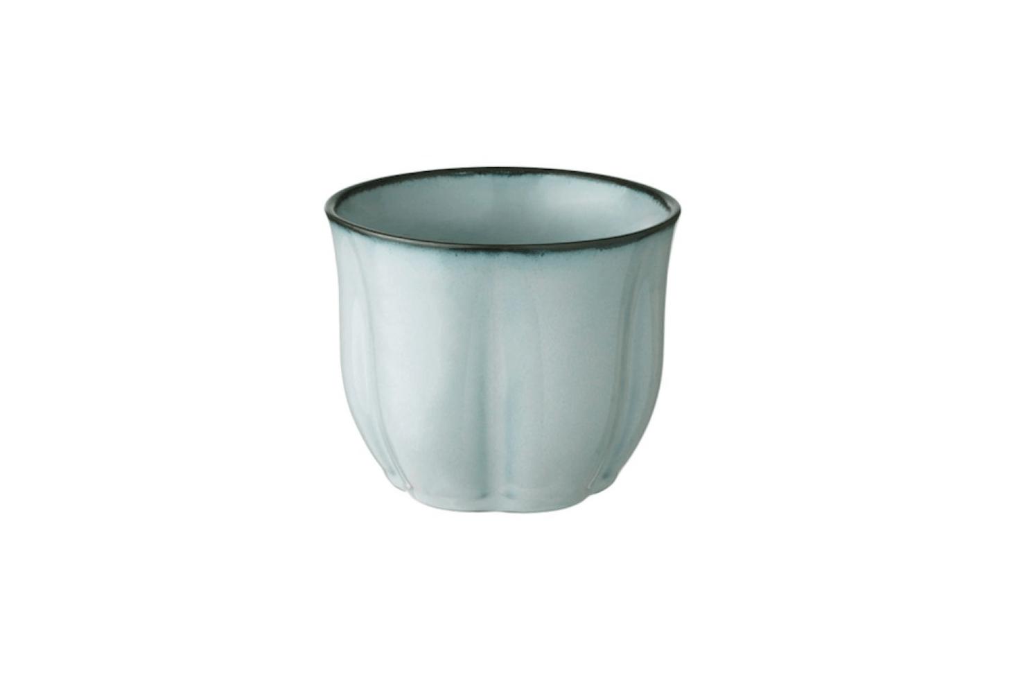 A 4.-inch glazed stoneware Sötkörsbär plant pot is $4.99 from Ikea.