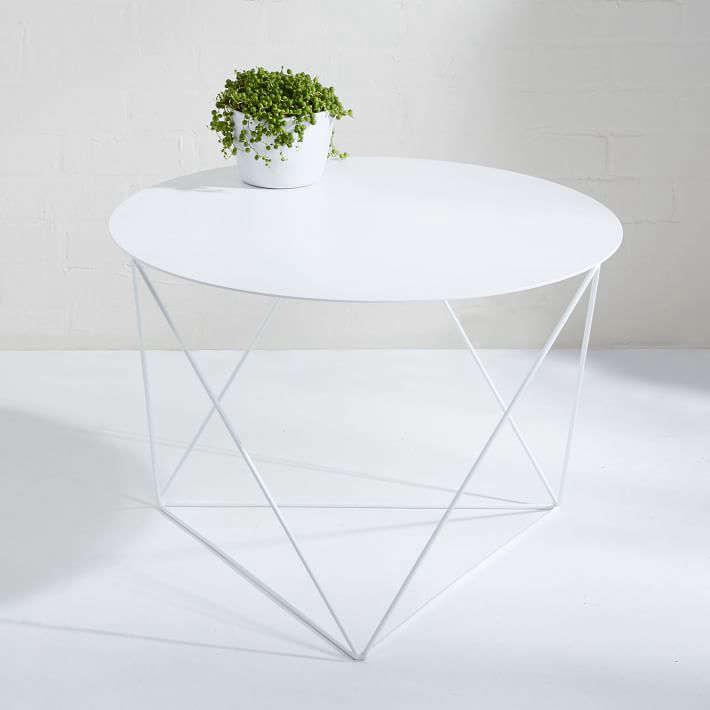 Sensational 10 Easy Pieces White Side Tables For Patio Or Porch Lamtechconsult Wood Chair Design Ideas Lamtechconsultcom