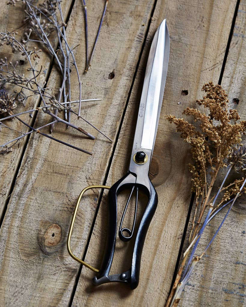 Japan-based designerDaisuke Tajika carries on the family tradition started by his great grandfather in 1928. His 13-inch forged steel Long Landscaping Shearsare ideal for shaping hedges and cutting through dense growth; $325 from Nalata Nalata.