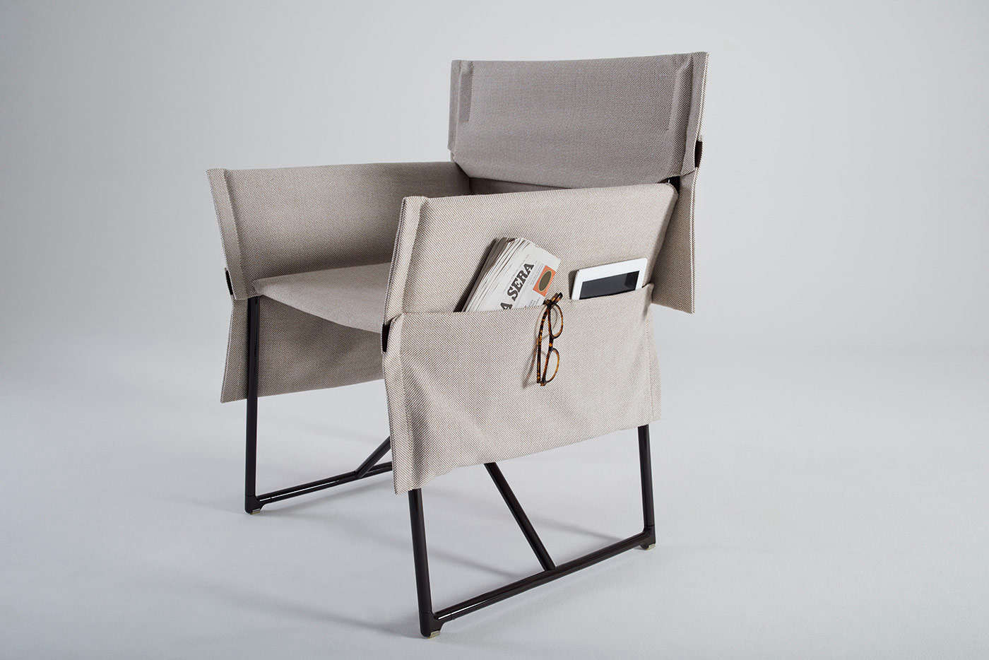 Outdoor Furniture: Folding Camp Chairs From Italy