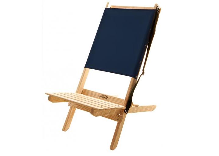 object of desire: folding canvas beach chair - gardenista